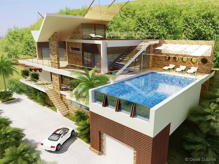 Проект дома модерн проектирование