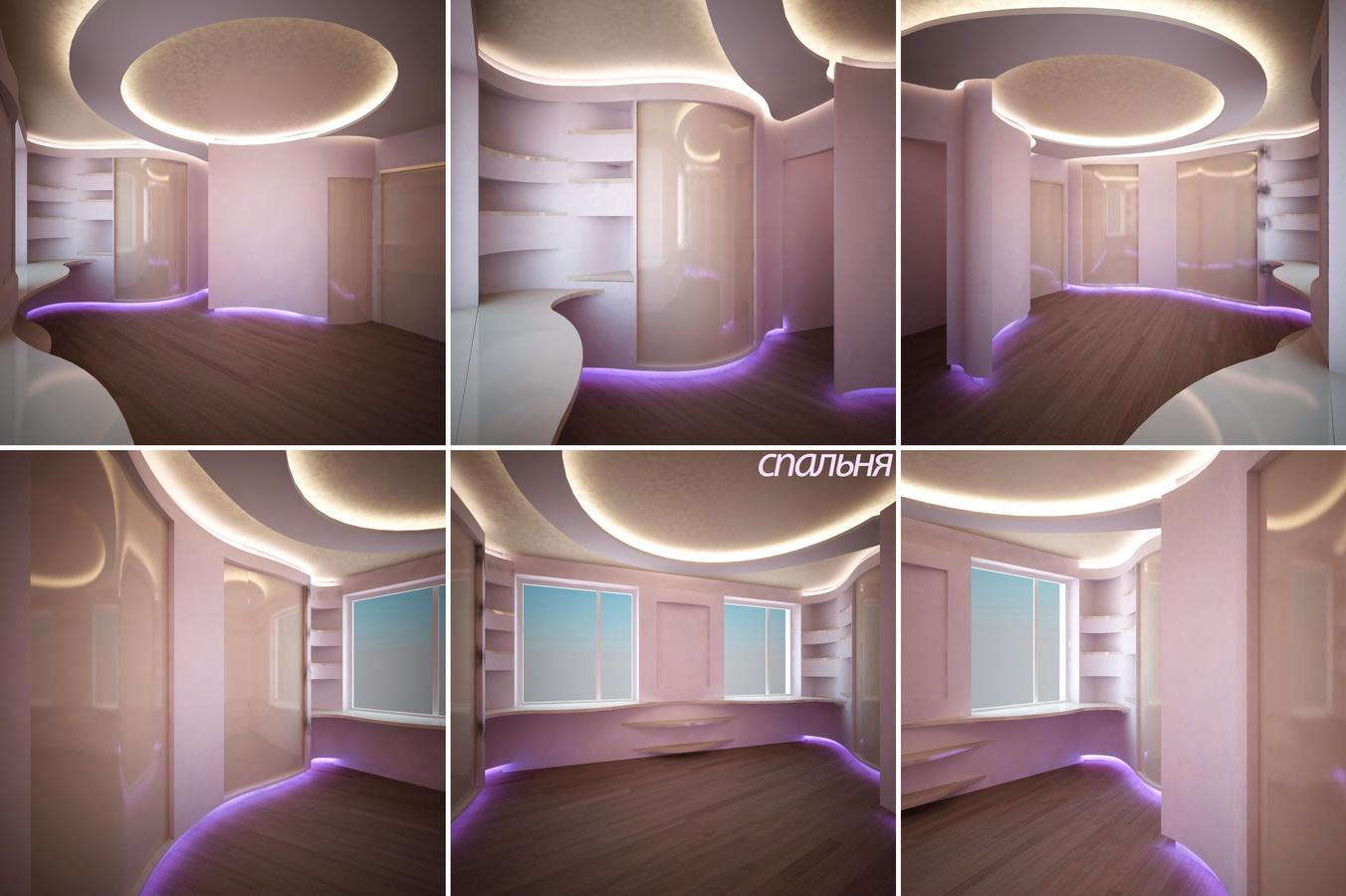 Проект дизайна квартиры студии